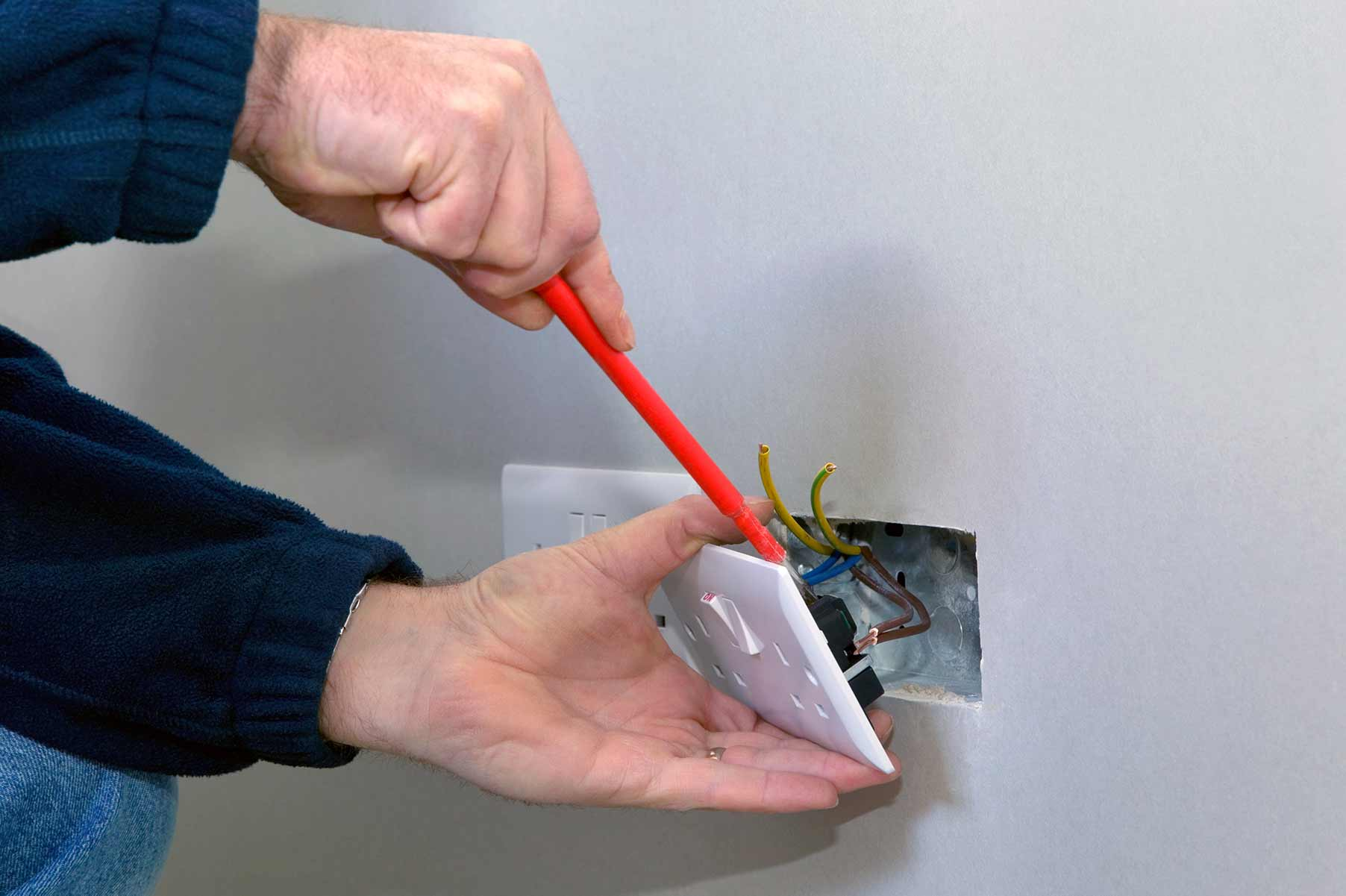 Our electricians can install plug sockets for domestic and commercial proeprties in Clerkenwell and the local area.